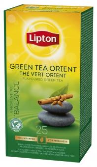 Ceai Lipton Verde Tchae Orient, 25 GPV x 1.3g