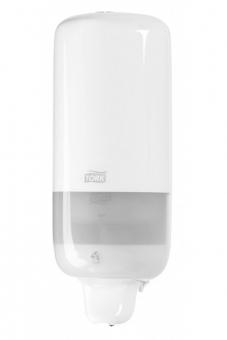 Dispencer sapun lichid  mare, 112x105x288 mm - alb (rezerva captiva),Tork