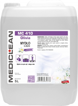 Sapun lichid Mediclean MC410, 5L Olivia