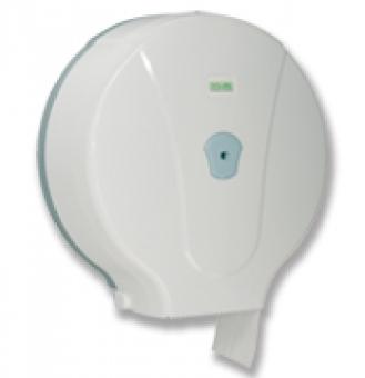 Dispenser hartie igienica maxi, alb,31x13x32.5cm,inchidere cu cheie,plastic, Viali
