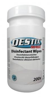 Servetele umede dezinfectante, 215 x 260mm, 200 buc/tub, Destix MA61 Jumbo - aroma lamaie