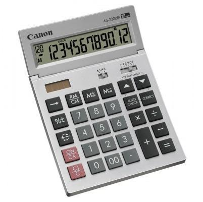 Calculator de birou CANON AS-2200Ri 12 digiti