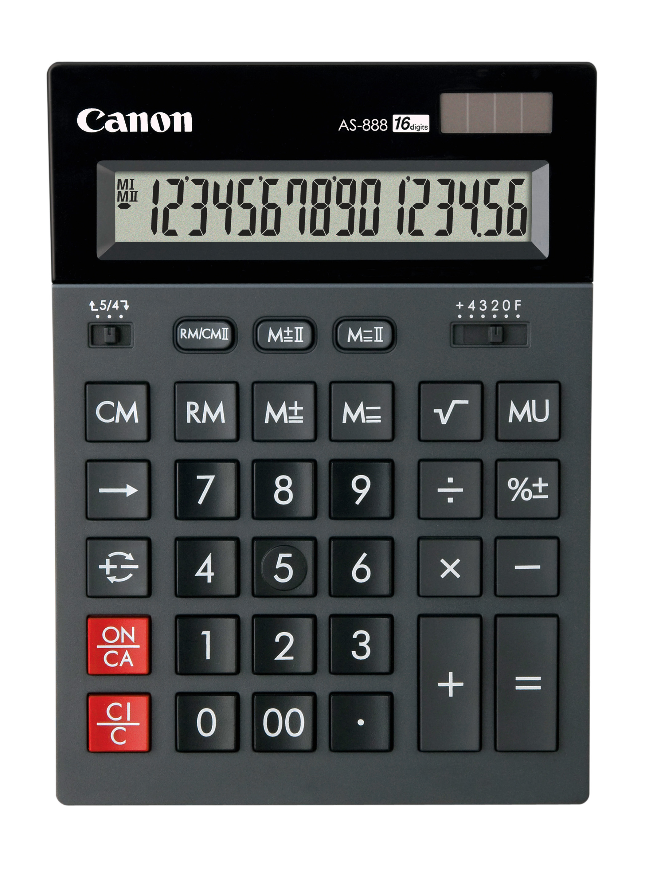 Calculator de birou CANON AS-888 16 digiti