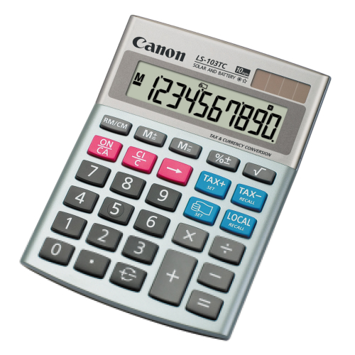 Calculator de birou CANON LS-103TC 10 digiti