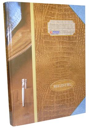 Registru Cartonat A4-200f
