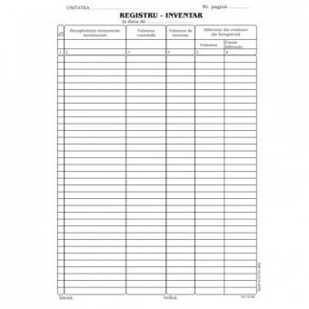 Registru intrare-iesire corespondenta vertical , A4 , 100 coli/carnet ,coperta mucava