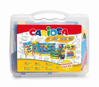 Cutie cu seturi pentru colorat, CARIOCA Play with colours