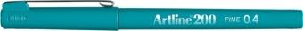Liner ARTLINE 200, varf fetru 0.4mm - turcoaz