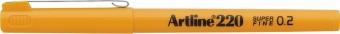 Liner ARTLINE 220, varf fetru 0.2mm - galben