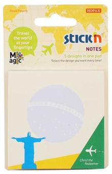 Magic notes autoadeziv 70 x  70 mm, 5 x 20 file, Stick